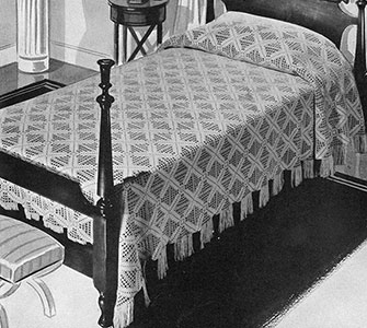 Rhythm Bedspread Pattern #684