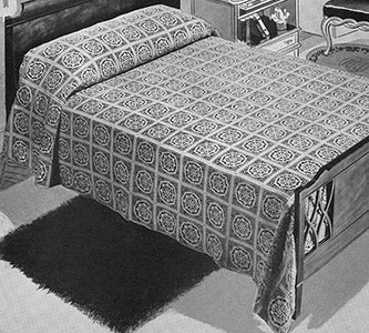 Fair and Square Bedspread Pattern #685