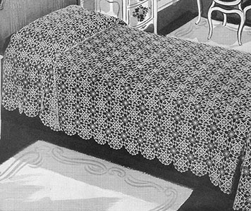 Maker of Dreams Bedspread Pattern #687