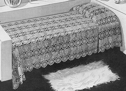 Heritage Bedspread Pattern #688