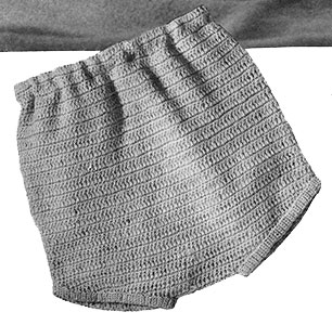 Crocheted Pants Pattern #5043