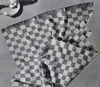 Checker Blanket Pattern #5044