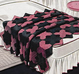 Caprice Afghan Pattern #6004