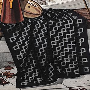 Pennant Afghan Pattern #696