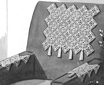 Chippendale Chair Set Pattern #7232