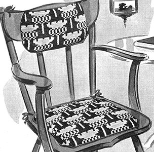 Cottage Chair Set Pattern #7233