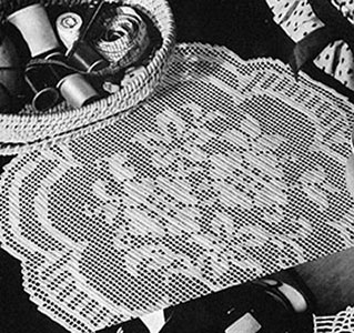 Trianon Doily Pattern #7255