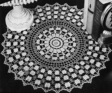 Prelude Doily Pattern #7256