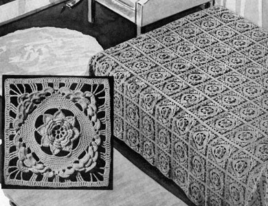 Rose of Killarney Bedspread Pattern