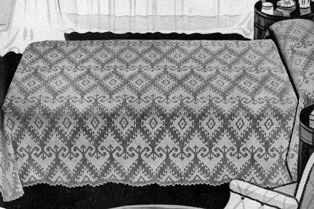 Heirloom Bedspread Pattern