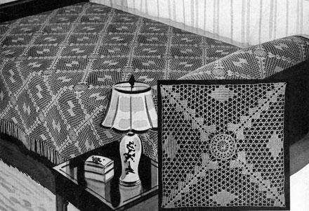 Waltz Time Bedspread Pattern