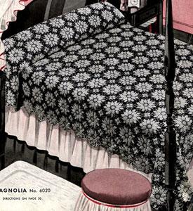 Magnolia Bedspread Pattern #6020