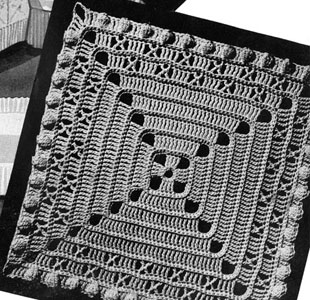 Square Motif Pattern