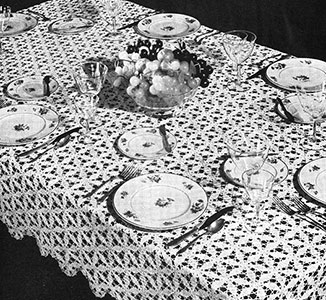 Wheel of Fortune Tablecloth Pattern #7288