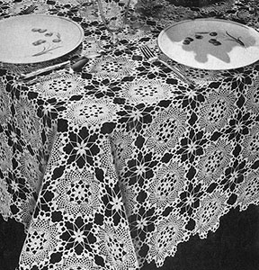 Enchantress Tablecloth Pattern #7297