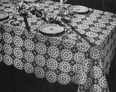 Renaissance Tablecloth Pattern #7298