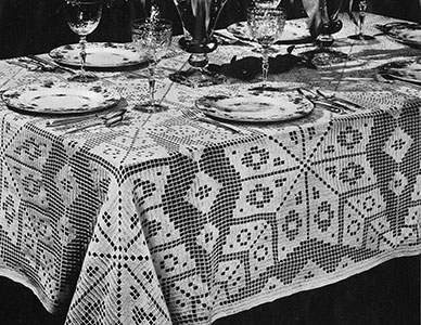 Open House Tablecloth Pattern #7300