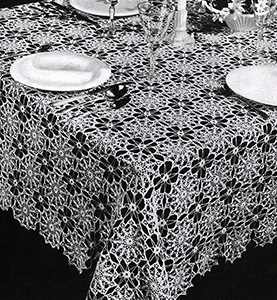 Spanish Infanta Tablecloth Pattern #7329