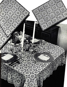 Fancy Free Tablecloth Pattern #7331