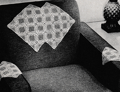 Double Diamond Chair Set Pattern #7372