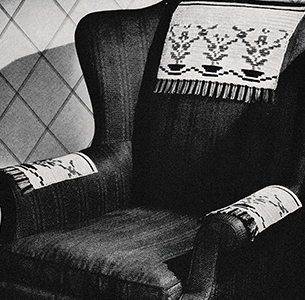 Serape Chair Set Pattern #7374