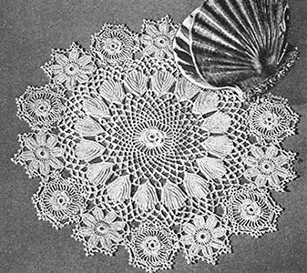 Rose of Sharon Doily Pattern #7271