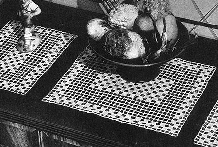 Hospitality Vanity Set Pattern #7405