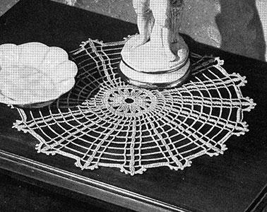 Sundial Doily Pattern #7423
