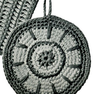 Spoked Wheel Potholder Pattern