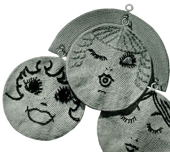 Three Little Maids Potholders Pattern