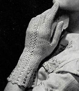 Fair Lady Gloves Pattern #2478