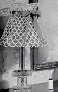 Shadow Play Lamp Shade Pattern #9267