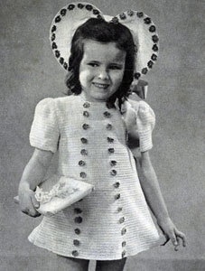Sally Dress and Bonnet Pattern #5137