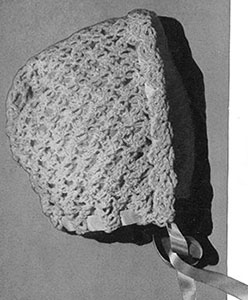 Bonnet Pattern #5160