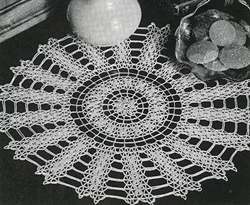 Williamsburg Doily Pattern #7545