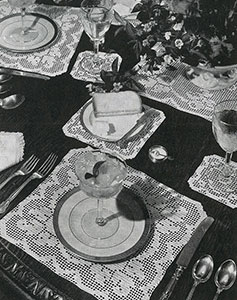 Chatelaine Luncheon Set Pattern #7563
