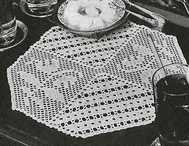 Two-in-One Doily Pattern #7567