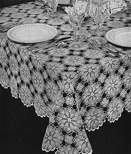 Early American Tablecloth Pattern #7485