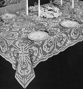 Today's Heritage Tablecloth Pattern #7531