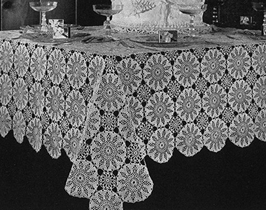 Sunburst Splendour Tablecloth Pattern #7533