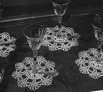 Good Companions Doily Pattern #7554