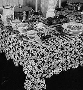 Martha Washington Tablecloth Pattern #7583