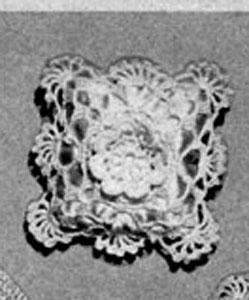 Square Sachet Pattern #4008B