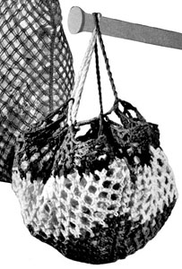 Round Shopping Bag Pattern #4015