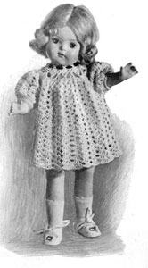 Doll's Dress Pattern #5191B
