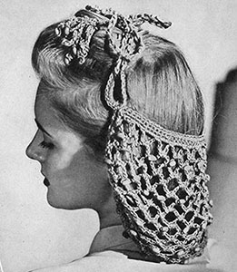 Beaded Snood Pattern #1151