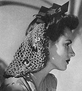 Bow Snood Pattern #1152