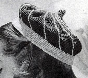 Stitched Calot Pattern #1157