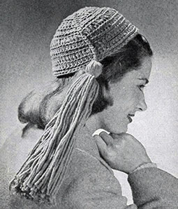 Rug Yarn Calot Pattern #1159