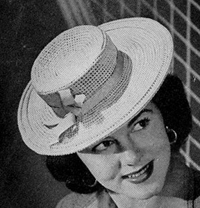 Sailor Hat Pattern #1161